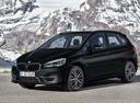 Фото авто BMW 2 серия Active Tourer F45 [рестайлинг], ракурс: 45 цвет: черный