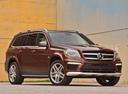 Фото авто Mercedes-Benz GL-Класс X166, ракурс: 315 цвет: коричневый