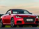 Фото авто Audi TT 8S, ракурс: 315 цвет: красный