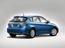 Фото авто Subaru Impreza 3 поколение, ракурс: 225 цвет: синий