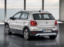 Фото авто Volkswagen Polo 5 поколение, ракурс: 135 цвет: бежевый