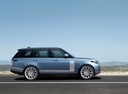Фото авто Land Rover Range Rover 4 поколение [рестайлинг], ракурс: 270 цвет: голубой