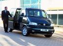 Фото авто Volkswagen Caravelle T4, ракурс: 315 цвет: черный