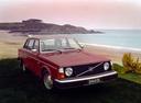 Фото авто Volvo 240 1 поколение, ракурс: 315 цвет: красный