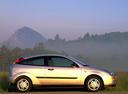 Фото авто Ford Focus 1 поколение, ракурс: 270 цвет: серебряный
