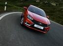 Фото авто ВАЗ (Lada) Vesta 1 поколение, ракурс: 315 цвет: красный