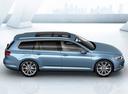 Фото авто Volkswagen Passat B8, ракурс: 270 цвет: синий