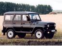 Фото авто УАЗ Hunter 1 поколение, ракурс: 315 цвет: черный