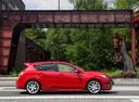 Фото авто Mazda 3 BL, ракурс: 270 цвет: красный