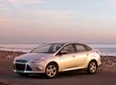 Фото авто Ford Focus 3 поколение, ракурс: 45 цвет: серебряный