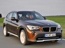 Фото авто BMW X1 E84, ракурс: 315 цвет: коричневый