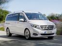 Фото авто Mercedes-Benz V-Класс W447, ракурс: 315 цвет: белый