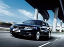 Фото авто Kia Magentis 2 поколение [рестайлинг], ракурс: 45 цвет: синий