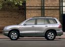 Фото авто Hyundai Santa Fe SM [рестайлинг], ракурс: 90 цвет: серебряный