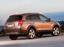 Фото авто Chevrolet Captiva 1 поколение [2-й рестайлинг], ракурс: 225 цвет: коричневый