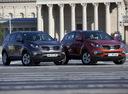 Фото авто Kia Sportage 3 поколение, ракурс: 315 цвет: коричневый