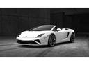 Фото авто Lamborghini Gallardo 1 поколение [рестайлинг], ракурс: 45 цвет: белый