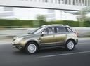 Фото авто Opel Antara 1 поколение, ракурс: 90 цвет: салатовый