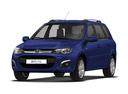 Новый ВАЗ (Lada) Kalina, синий , 2016 года выпуска, цена 447 500 руб. в автосалоне