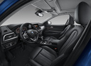 Фото авто BMW 1 серия F52, ракурс: салон целиком цвет: синий