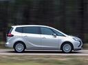 Фото авто Opel Zafira C, ракурс: 270 цвет: белый