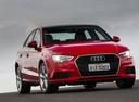 Фото авто Audi A3 8V [рестайлинг], ракурс: 315 цвет: красный