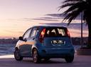 Фото авто Suzuki Splash 1 поколение [рестайлинг], ракурс: 135 цвет: голубой