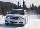 Фото авто Subaru Legacy 5 поколение [рестайлинг],  цвет: белый