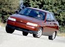 Фото авто ВАЗ (Lada) 2110 1 поколение, ракурс: 45 цвет: красный