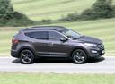 Фото авто Hyundai Santa Fe DM, ракурс: 270 цвет: коричневый