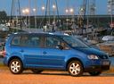 Фото авто Volkswagen Touran 1 поколение, ракурс: 270
