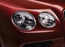 Фото авто Bentley Flying Spur 1 поколение, ракурс: передние фары цвет: красный