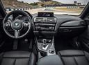 Фото авто BMW M2 F87, ракурс: торпедо цвет: голубой