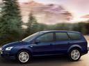 Фото авто Ford Focus 2 поколение, ракурс: 90 цвет: синий
