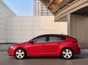 Фото авто Chevrolet Cruze J300, ракурс: 90 цвет: красный