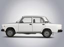 Фото авто ВАЗ (Lada) 2107 1 поколение, ракурс: 90 - рендер цвет: белый