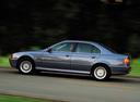 Фото авто BMW 5 серия E39 [рестайлинг], ракурс: 90 цвет: серый