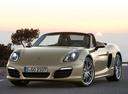 Фото авто Porsche Boxster 981, ракурс: 45 цвет: бежевый