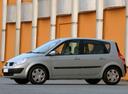 Фото авто Renault Scenic 2 поколение, ракурс: 90 цвет: серебряный