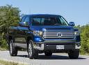 Фото авто Toyota Tundra 2 поколение [2-й рестайлинг], ракурс: 315 цвет: синий