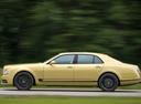 Фото авто Bentley Mulsanne 2 поколение [рестайлинг], ракурс: 90 цвет: золотой