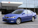 Фото авто Toyota Camry XV30 [рестайлинг], ракурс: 45 цвет: синий