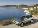 Фото авто Opel Antara 1 поколение, ракурс: 45 цвет: салатовый