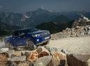 Фото авто Toyota Hilux 8 поколение, ракурс: 315 цвет: синий