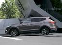 Фото авто Hyundai Santa Fe DM, ракурс: 90 цвет: коричневый