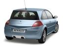Фото авто Renault Megane 2 поколение [рестайлинг], ракурс: 225 цвет: голубой