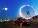 Фото авто ВАЗ (Lada) Granta 1 поколение, ракурс: 315 цвет: вишневый