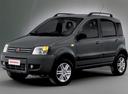 Фото авто Fiat Panda 2 поколение, ракурс: 45 цвет: серый