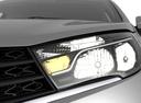 Фото авто ВАЗ (Lada) Vesta 1 поколение, ракурс: передние фары цвет: серебряный