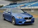 Фото авто BMW M5 F10 [рестайлинг], ракурс: 315 цвет: синий